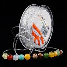MOQ=1pc Super Elastic transparent Cords Good Quality Wholesale DIY Jewelry Accessories Beading Advanced Wire Making Bracelet