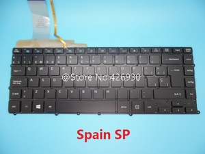 Image 1 - Keyboard For Samsung NP900X4B NP900X4C NP900X4D United Kingdom UK  France FR Spain SP Italy IT Germany GR Brazil BR Backlit
