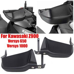 For Kawasaki Z900 Versys 650 Handle Bar Hand Guard Handguard Protector Brake Clutch Protector Wind Shield Versys650 1000 Z 900