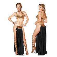 Костюм принцессы Leia из «Звездных Войн» для косплея и Хэллоуина