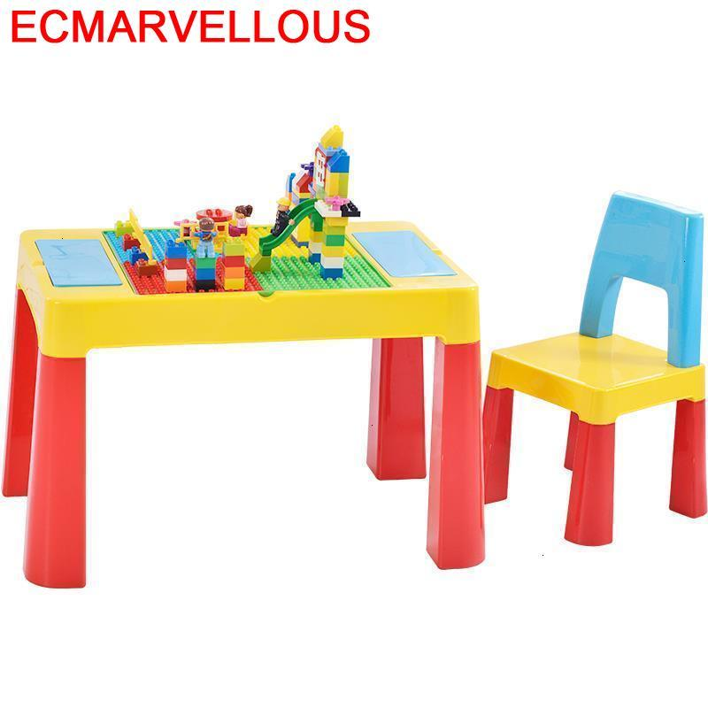 And Chair Scrivania Escritorio Tavolo Bambini Child Plastic Game Kindergarten Mesa Infantil For Kids Kinder Study Children Table