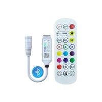 LED Farbe Controller Für 12V 5050 2835 Streifen Licht Band Nacht Bluetooth 24 Key Fernbedienung