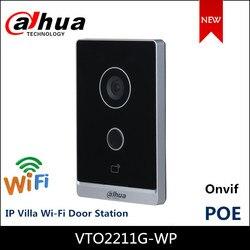 Dahua VTO2211G-WP Mini Poe Video Intercoms Wifi Outdoor Station Twee-weg Audio En Voice Draadloze Netwerk Ip Villa Deur station