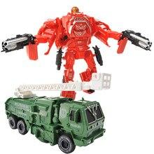 Novo manual transformação figura de ação deformável mini carro robô modelo veículo abs plástico brinquedos educativos menino crianças presente
