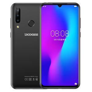 Image 2 - DOOGEE N20 4G 64GB 6.3inch Waterdrop Screen 3 Back Camera Android 9.0 Pie Octa Core Fingerprint ID 4350mAh 4G LTE  Smartphone