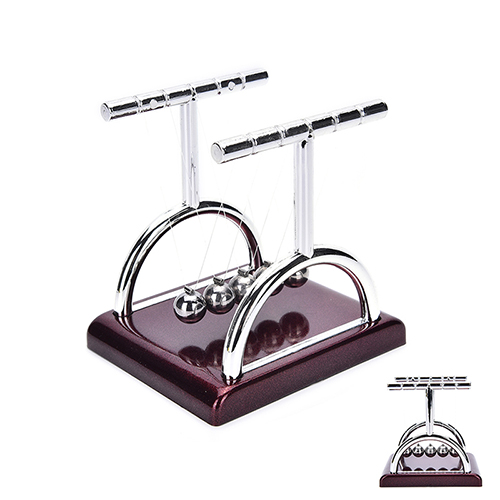 Newtons Cradle Steel Balance Ball Fun Decoration Physics Science Toy Gift High Quality