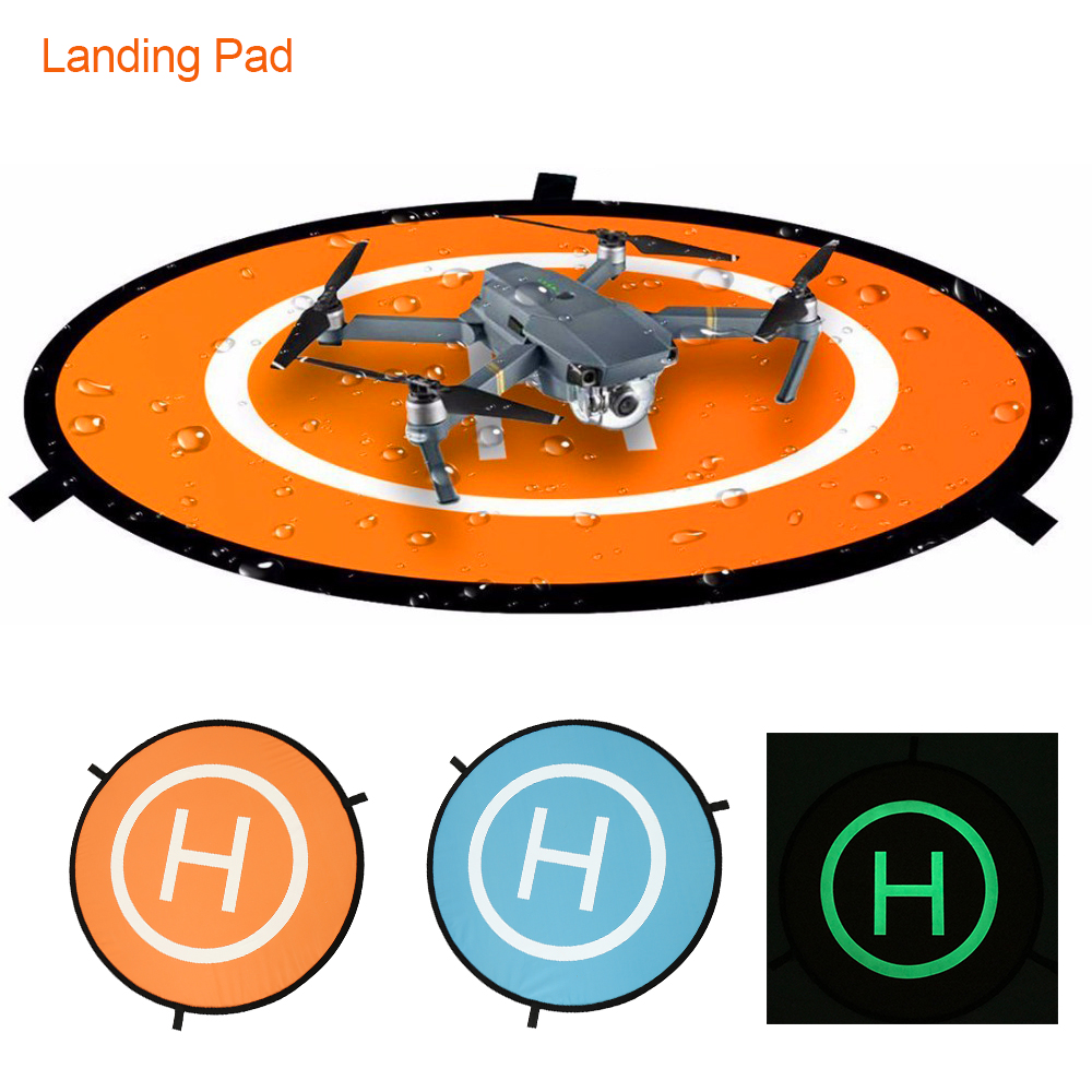 Portable Drone Landing Pad For DJI Mavic Pro Foldable Fast-fold In Dark Land Pad For Air Pro Phantom 4 Pro All RC Racing Gadget
