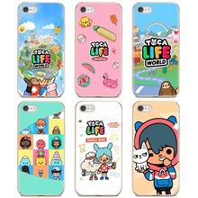 Voor Xiaomi Mi Redmi Note 3 4 4X 5 6 7 8 8T 9 9S 9T 10 pro Lite Toca Boca Toca Leven Wereld Spel Soft Shell Case