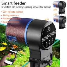 Aquarium Fish Feeder Food Timer  WIFI Automatic Dispenser Tank Pond D20