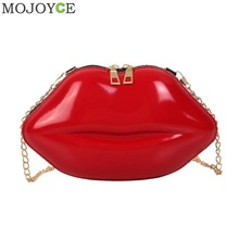ПВХ сумки в форме губ, одноцветная сумка на плечо на молнии, сумка через плечо, сумка-мессенджер для телефона, сумка для монет, вечерние клатчи, Bolsas Feminina Saco