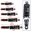 240/250/260/270/290mm 1200LBS Universal Motorcycle Shock Absorber Suspension Protection Rear Shocker Absorbers Dirt Bikes