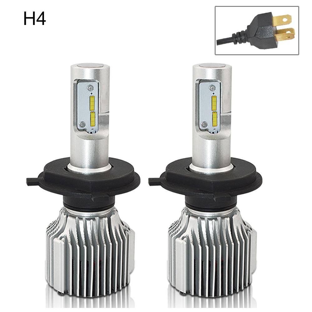 H7 Led Avtomobil fənərləri Lampa 12V H4 H8 H9 H11 9005 / HB3 9006 - Avtomobil işıqları - Fotoqrafiya 1