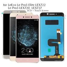 Ekran LeTV Le Pro 3 X720 dokunmatik Lcd ekran ekran için LeEco Le Pro3 X720 X727 ekran Le Pro3 Elite X722 ekran