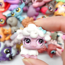 цена 10pcs/lot Pet Shop Figure Toys Kitty unicorn Dog Animal Action Toy Collection Kids Toy Gift онлайн в 2017 году