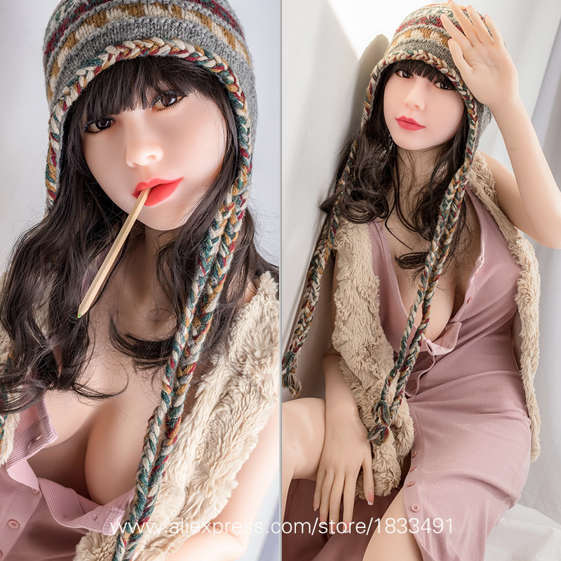 NEW 135cm Top Quality Japanese Silicone Sex Dolls Realistic Reborn Adult Love Doll Mannequins Real Pussy