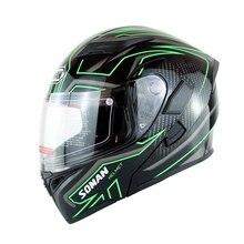 Motorcycle Helmet Full Face Motocross Capacete Flip Up Motorhelm Shrak Casque Moto Modulable Casco Modular Capacete Aberto Vespa