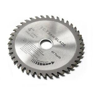 Image 2 - Cmcp 30T/40T Cirkelzaagblad 1Pc 4Inch Tct Zaagblad Houtbewerking Snijden Disc Voor hout Zag Slijpschijven