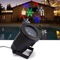 Outdoor Weihnachten Schneeflocke Moving LED Garten Weihnachten Licht Projektor IP65 UNS