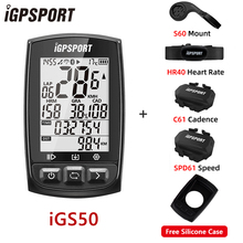 Stopwatch Bike IGPSPORT Bicycle Bluetooth-4.0 Wireless Speedometer Ant  Waterproof IPX7