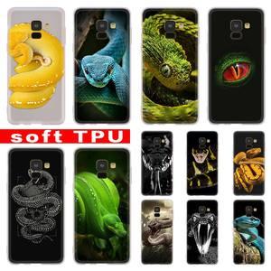 Череп Змея для Samsung Galaxy A51 A41 A31 A71 A10 A20 e A30 A40 s A50 A70 Note 8 9 10 Plus из термопластичного полиуретана (TPU) на телефоны, мягкий