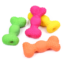 Squeaky Sound Funny Chew Bite Toy Pets Dog Toys Cute Bone Shape Molars Squeeze Durability Funny Bite Squeak Toys