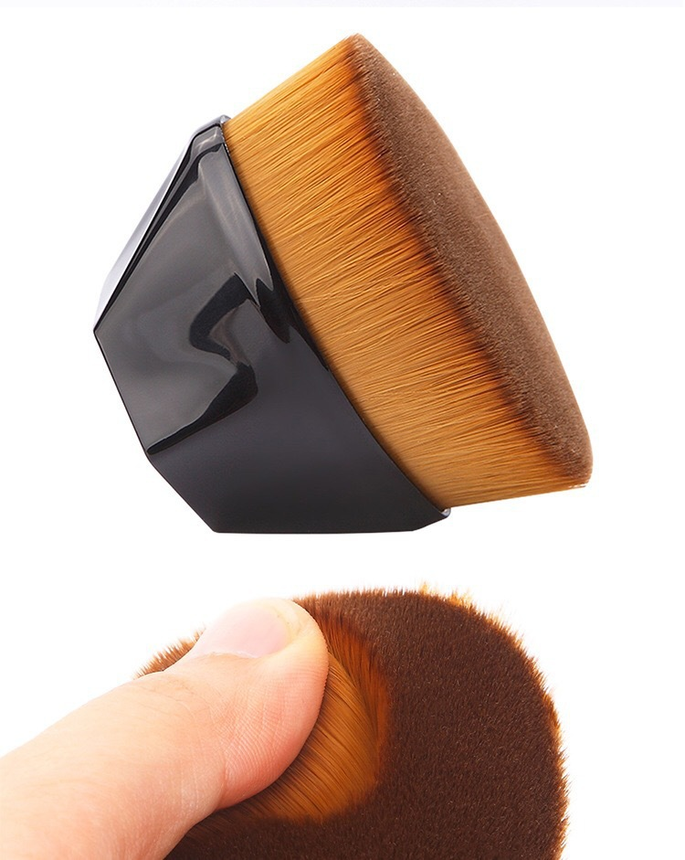 2020 New Arrival Foundation Brush BB Cream Makeup Brushes Loose Powder Brush Flat Kit Pincel Maquiagem 1Pcs Make up Brushes 5