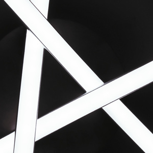 Image 2 - مثلث مصباح السقف موجة الثريا الجدة سقف ليد حديث مصباح غرفة نوم غرفة المعيشة المطبخ مصباح السقف