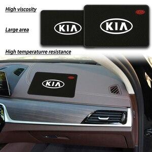 Anti slip Mat Car Interior Accessories Car Styling Case For KIA ceed sportage 2011 2018 2019 sorento cerato rio 3 4 Car-Styling
