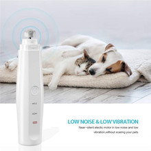 Electric Dog Nail Clippers for Large Breed Dogs Claw Care Smoothing Painless Safety Trimmer Cutter Pet Cat Grinder Tool