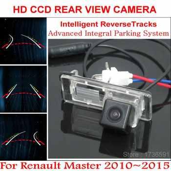 Lyudmila Intelligentized Rückfahr Kamera FÜR Renault Master 2010 ~ 2015 Rückfahr Back Up Kamera/Dynamische Beratung Tracks