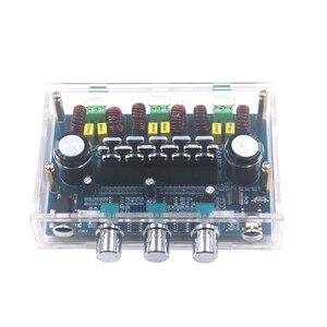 Image 4 - Avec boîtier TPA3116D2 2.1 canaux Audio basse Subwoofer ampli Bluetooth 5.0 stéréo numérique amplificateur de puissance carte 50Wx2 + 100W XH A305
