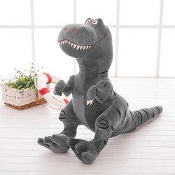28cm Dinossauro de Brinquedo de Pelúcia saco de Dormir Do Bebê Apaziguar Preenchido Stuffed Animal Tyrannosaurus Brinquedo Bonito Pelúcia Macia Boneca de Brinquedo de Presente de Aniversário
