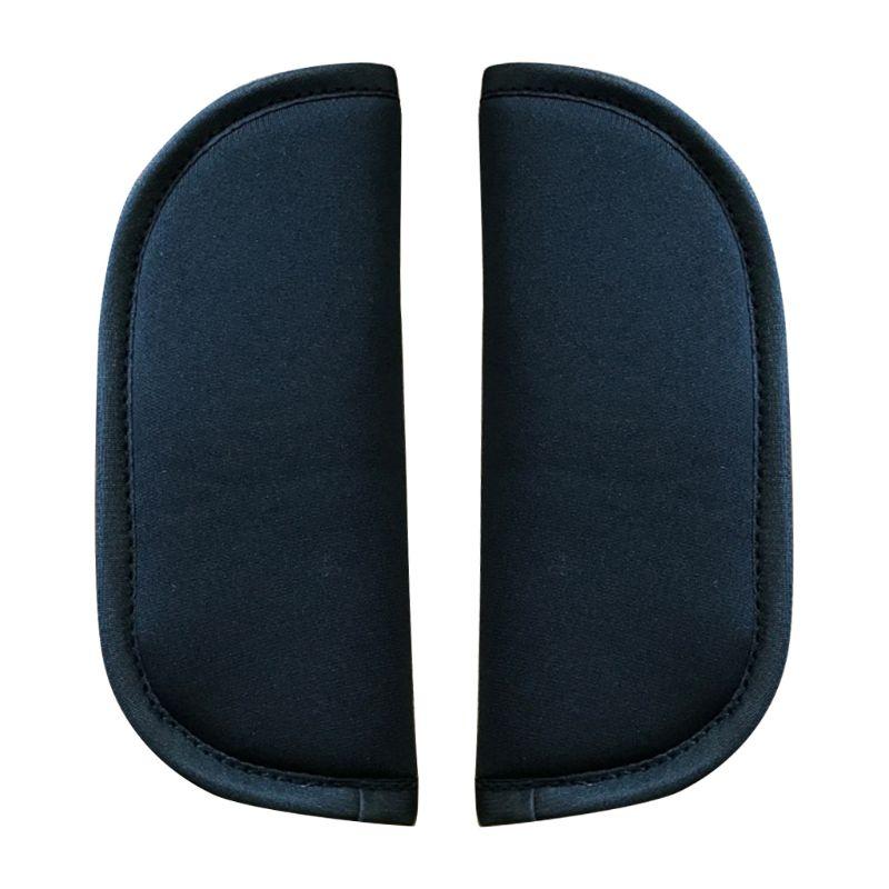 2 Pcs Universal Baby Stroller Belt Cushion Kids Car Soft Seat Strap Vehicle Safety Shoulder Cover Pad Protector for  Infants