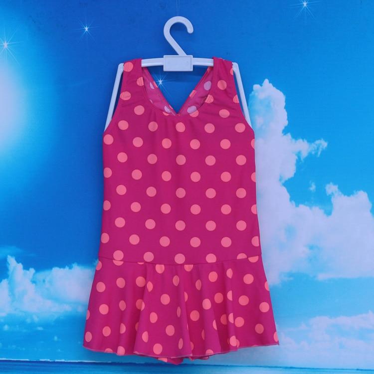 Korean-style KID'S Swimwear GIRL'S One-piece Swimsuit Children Baby Swim Bathing Suit