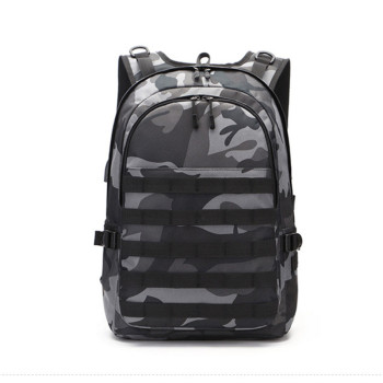 PUBG Backpack Men Game School Bag For Boy Mochila Pubg Battlefield Infantry Pack Camouflage Travel USB Charging Knapsack Cosplay game pubg playerunknown s battlegrounds cosplay costumes props first aid packet pen camouflage bag