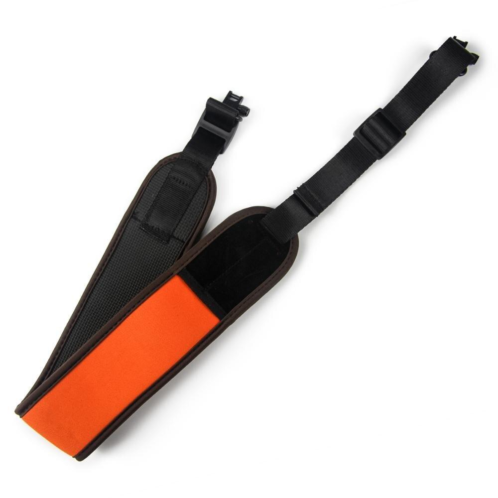 Neopren Rifle Sling Wasserdichte Schulter Strap Jagd Zubehör Weich Gepolsterte Shotgun Gürtel-in Jagdwaffenzubehör aus Sport und Unterhaltung bei