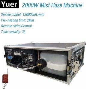 Image 1 - 2000 วัตต์เครื่องหมอกควันหมอกเครื่อง DMX ควบคุมเที่ยวบินแพคเกจ 3L ควันผลแสงเวที DJ Club