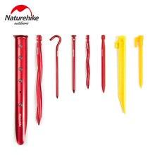 Naturehike-Pinzas para clavos para tienda de campaña aleación de aluminio ABS, accesorio para senderismo al aire libre