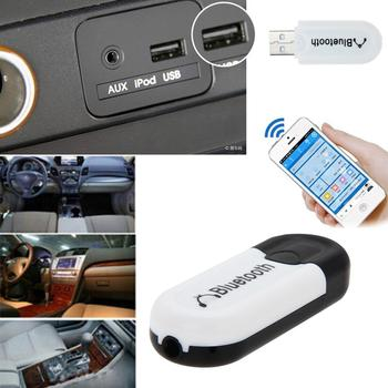 Bluetooth USB A2DP Adapter Dongle Blutooth Music Audio Receiver Wireless Stereo 3.5mm Jack for Car AUX Android/IOS Mobile Phone image