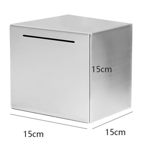 Image 5 - Safe Piggy Bank Made of Stainless Steel,Safe Box Money Savings Bank for Kids,Can Only Save the Piggy Bank That Cannot Be Taken O