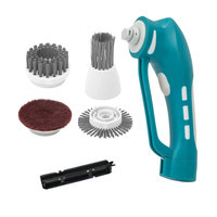 Bathroom Electric Portable Light Weight Home Cleaning Tool Washing Machine For Kitchen Handle Power Scrubber