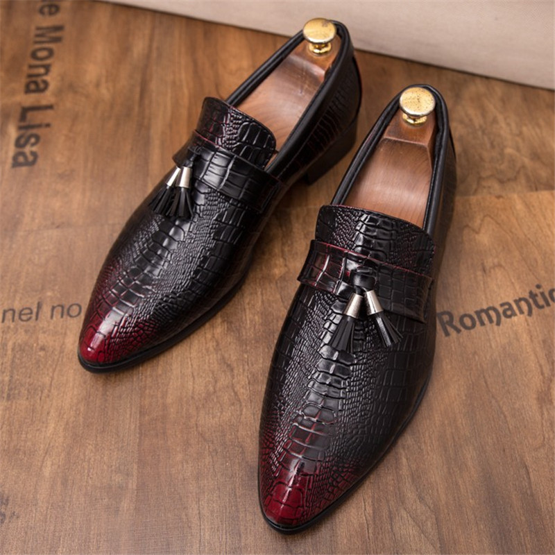 Men's Fashion Tassel Soft Moccasins Mens Genuine Leather Casual Loafers Outdoor Driving Flats Shoes