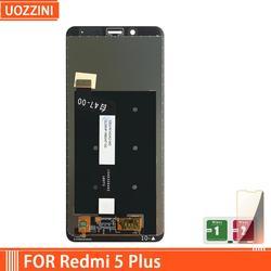Novo para xiaomi redmi 5 plus display lcd tela para redmi 5 plus lcd com moldura/sem moldura