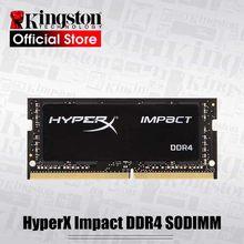Kingston HyperX Impacto DDR4 Ram SODIMM 2666MHz 4g 8gb 16g 32gb CL15 memória portátil 1.2V de memória DRAM 260 pin Intel Notebook Para Jogos