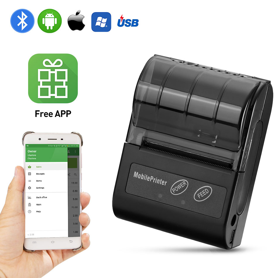 Bluetooth-Receipt-Printer-58MM-Portable-POS-Mini-Printer-Thermal-Bill-Taxi-Printer-58mm-For-Andirod-IOS