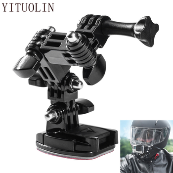 Motorcycle Helmet Camera Holder Bracket Moto Accessories For SUZUKI GSXS 1000 GSR 750 RM 125 BURGMAN 400 GSXR 750 K6 SJ410 GSXF image
