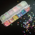 Nail Glitter Flakes Butterfly Shape Nails Sequins Star Heart for Nail Art Decoration Slime Supplies Filler Accessories