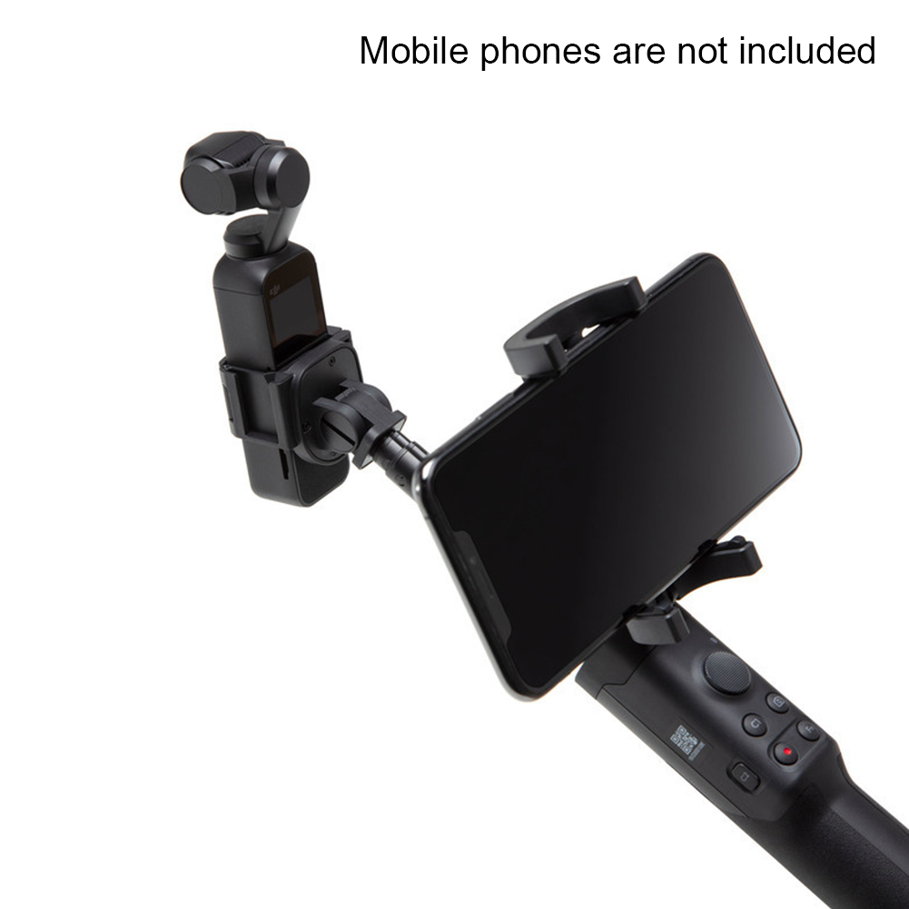 Wiederaufladbare Außen Pole Stick Stabilisator Telefon Halter Handheld Erweiterbar 1/4 Kamera Verlängerung Stange Zubehör Für OSMO Tasche - 6