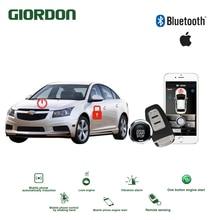 Universal Keyless Entry PKE Comfort System ios APP Phone Car Alarm Boost Remote Start Engine Chevrolet