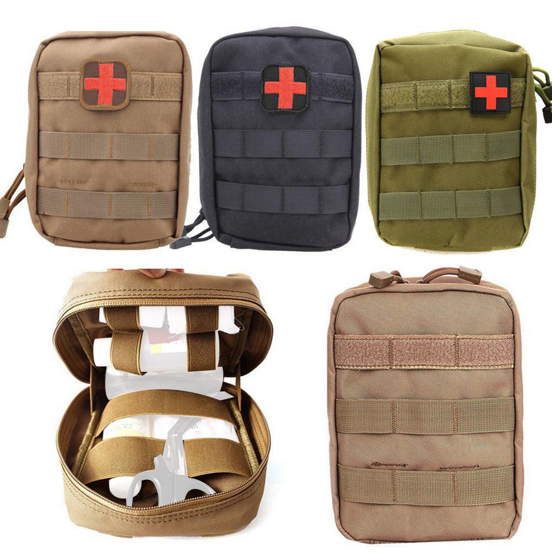 Outdoor Tactical EMT Climbing Rescue Bag Military Medical Emergency Backpack For First Aid Kit Pouch Hunting Utility Accessory